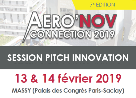 Aeronov pitch session, 13 et 14 février 2019 à Massy