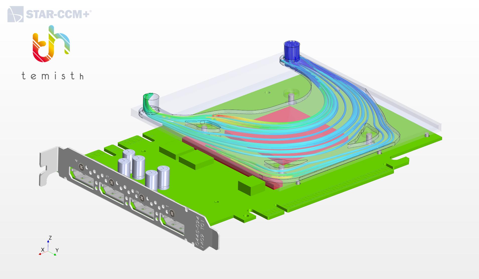 Modelization of GPU cooling - Optimization of a cold plate